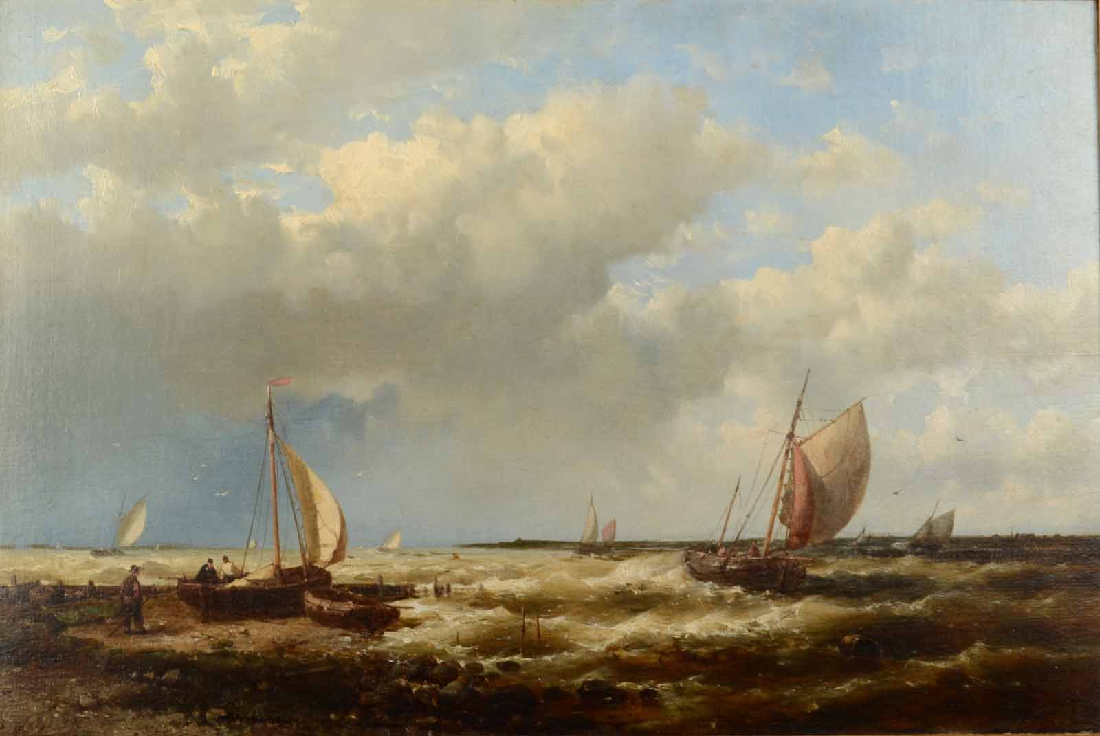 Abraham Hulk, off the dutch coast